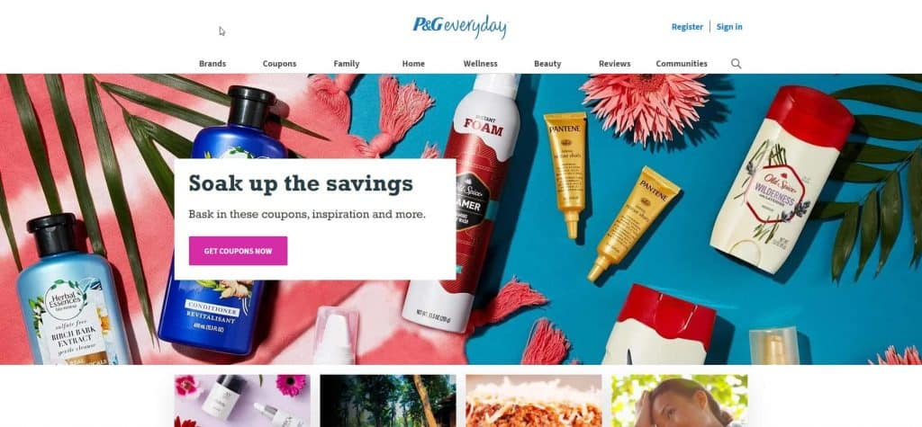 P&G Website