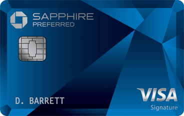 One of the best passive income ideas is using a cashback credit card to make extra money. Picture is of the Cash Sapphire Preferred credit card.